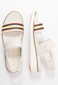 Cole Haan - ZEROGRAND GLOBAL DOUBLE BAND - Platform sandals - ivory/multicolor - 3