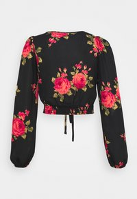 New Look - ROSY RUCH FRONT SHELL - Blouse - black - 1
