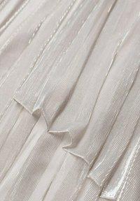 Mango - A-line skirt - silver - 6