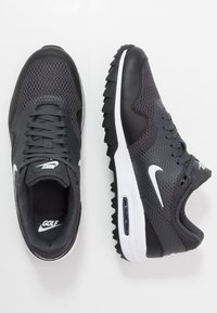 Nike Golf - AIR MAX 1 G - Golfové boty - black/white/anthracite - 1