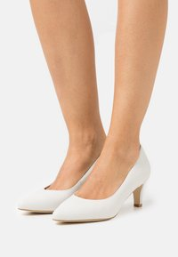 Anna Field - LEATHER COMFORT - Tacones - white - 0