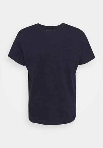 T-shirt - bas - sky captain blue