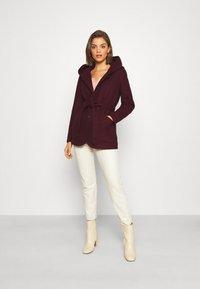ONLY - ONLCHANETT JACKET  - Classic coat - port royale - 1