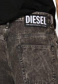 Diesel - BRON - Džínové kraťasy - black denim - 3