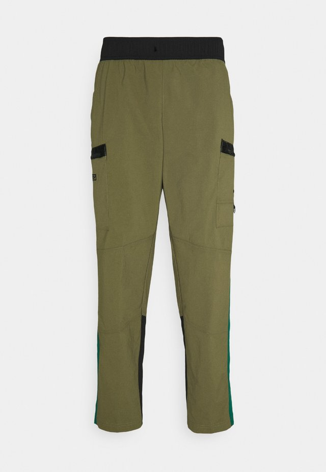 STEEP TECH PANT UNISEX - Cargo trousers - burnt olive green/evergreen/black