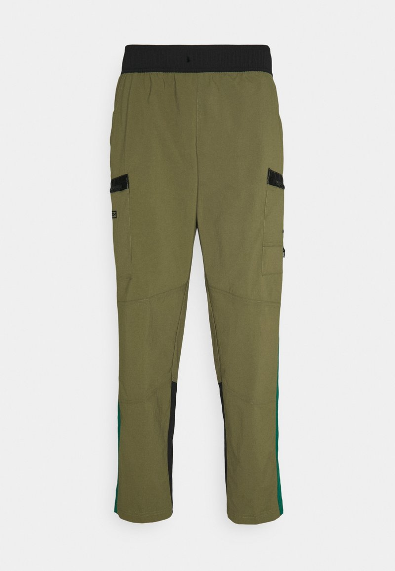 The North Face - STEEP TECH PANT UNISEX - Cargo trousers - burnt olive green/evergreen/black