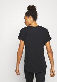 Fox Racing - RESPONDED V NECK - T-Shirt print - black - 2