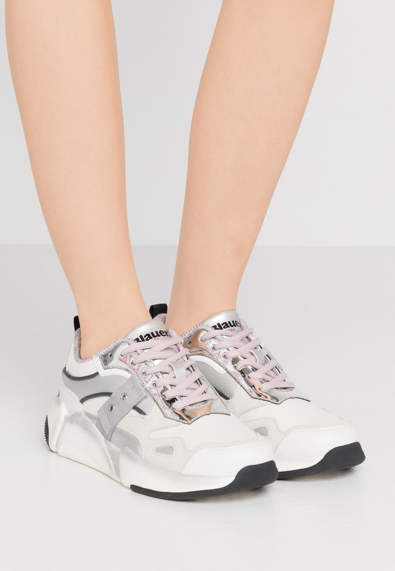 Blauer - Trainers - white/silver