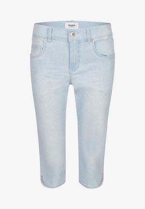SPARKLE MIT SCHMUCKSTEINEN - Denim shorts - blau