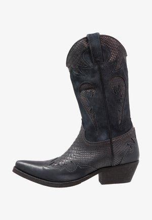 Cowboy/Biker boots - natural/piedra