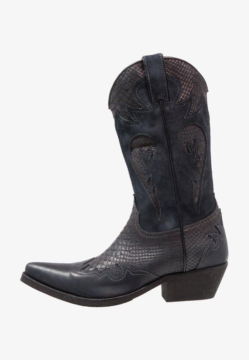 Kentucky's Western - Cowboy/Biker boots - natural/piedra