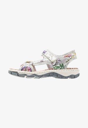 Walking sandals - ice-multicolor/silverflower