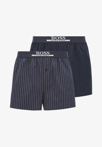 BOSS - 2 PACK - Pyjama bottoms - blue - 4