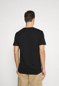 GAP - BASIC ARCH 2 PACK - Print T-shirt - true black - 2