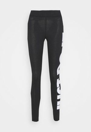 Leggings - Trousers - black/(white)