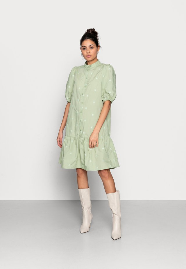 NONA SHIRT DRESS - Blousejurk - reseda