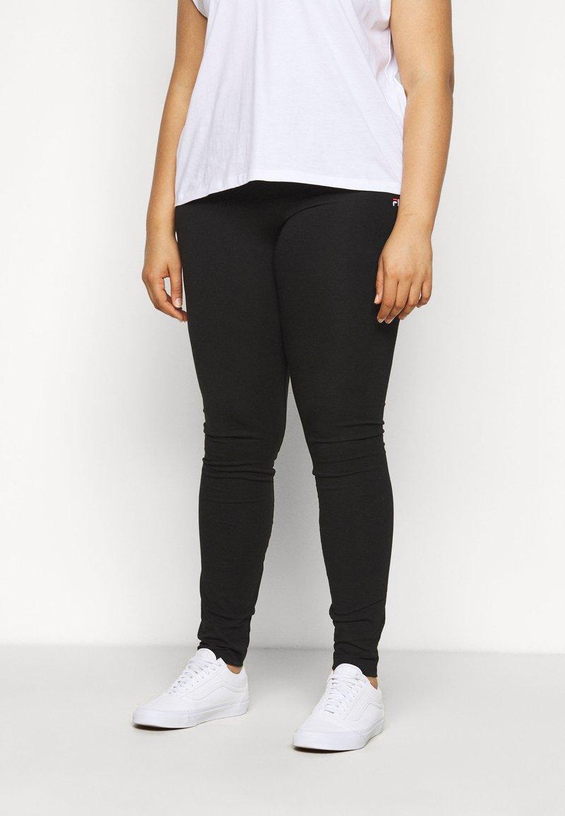 Fila Plus - EDWINA - Leggings - Trousers - black