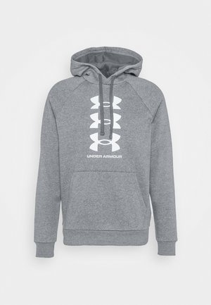RIVAL MULTILOGO - Kapuzenpullover - pitch gray light heather