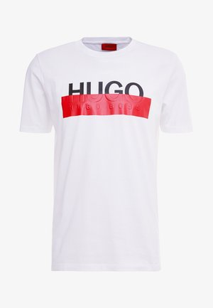 DOLIVE - T-shirt imprimé - white