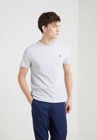 Polo Ralph Lauren - SHORT SLEEVE - T-shirt basique - smoke heather - 0