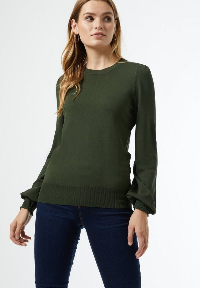 PUFF SLEEVE - Jumper - green
