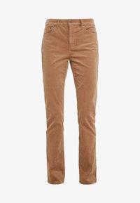 Pantaloni - classic camel