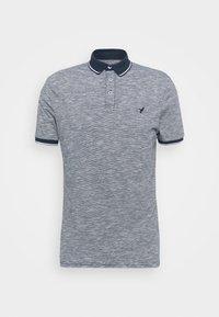 Pier One - Polo shirt - mottled dark blue - 4