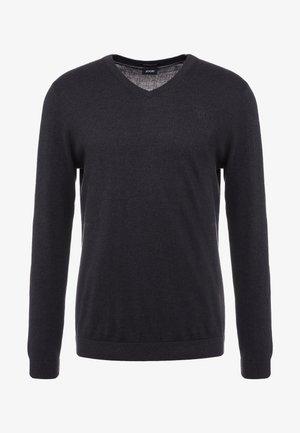 LEAS - Stickad tröja - black