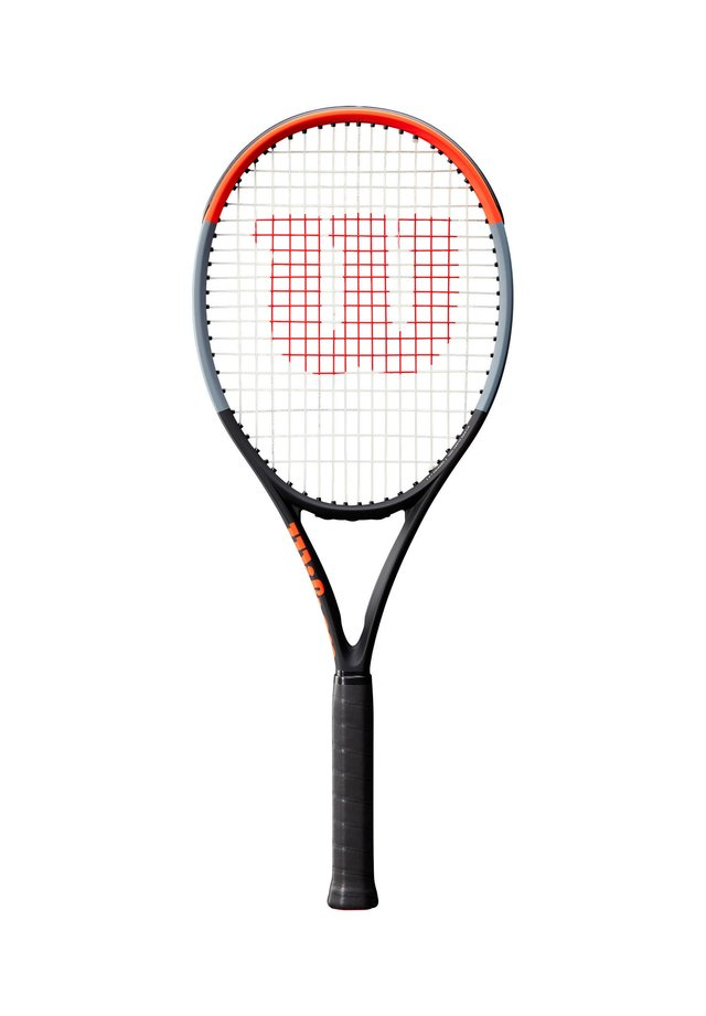 "WILSON TENNISSCHLÄGER ""CLASH 100L"" - UNBESAITET - 16X19 - Tennis racket - red/black"
