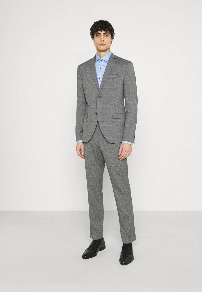 Isaac Dewhirst - CHECK SUIT - Costume - grey