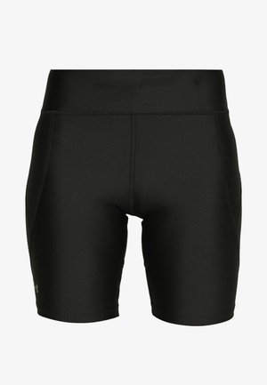 BIKE SHORTS - Leggings - black/metallic silver