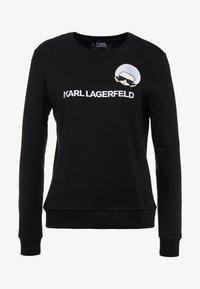 KARL LAGERFELD - DOTS IKONIK  - Sweatshirts - black - 4