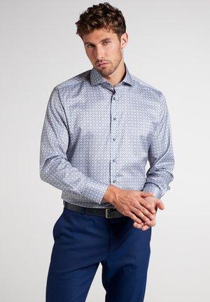 Shirt - grau/blau