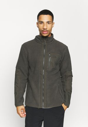 KINGSWAY JACKET - Fleecejakker - brownstone