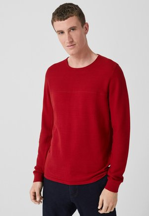 Sweatshirt - uniform red