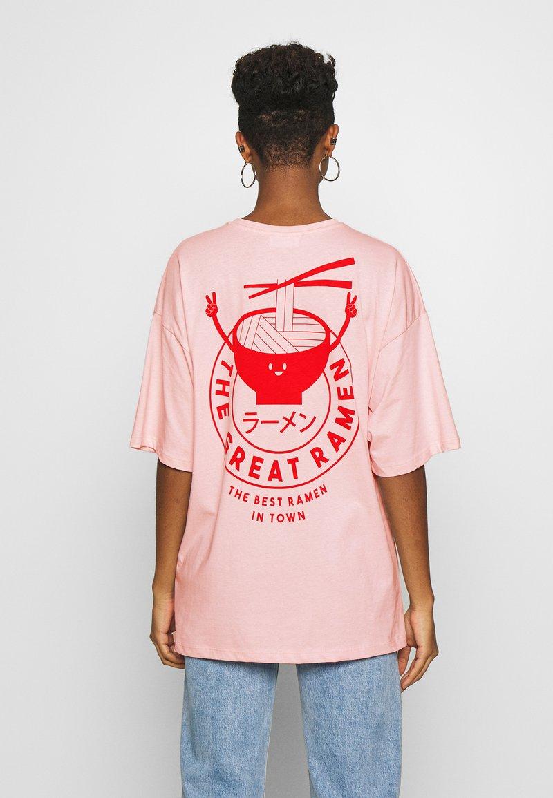 Even&Odd - T-shirt print - pink