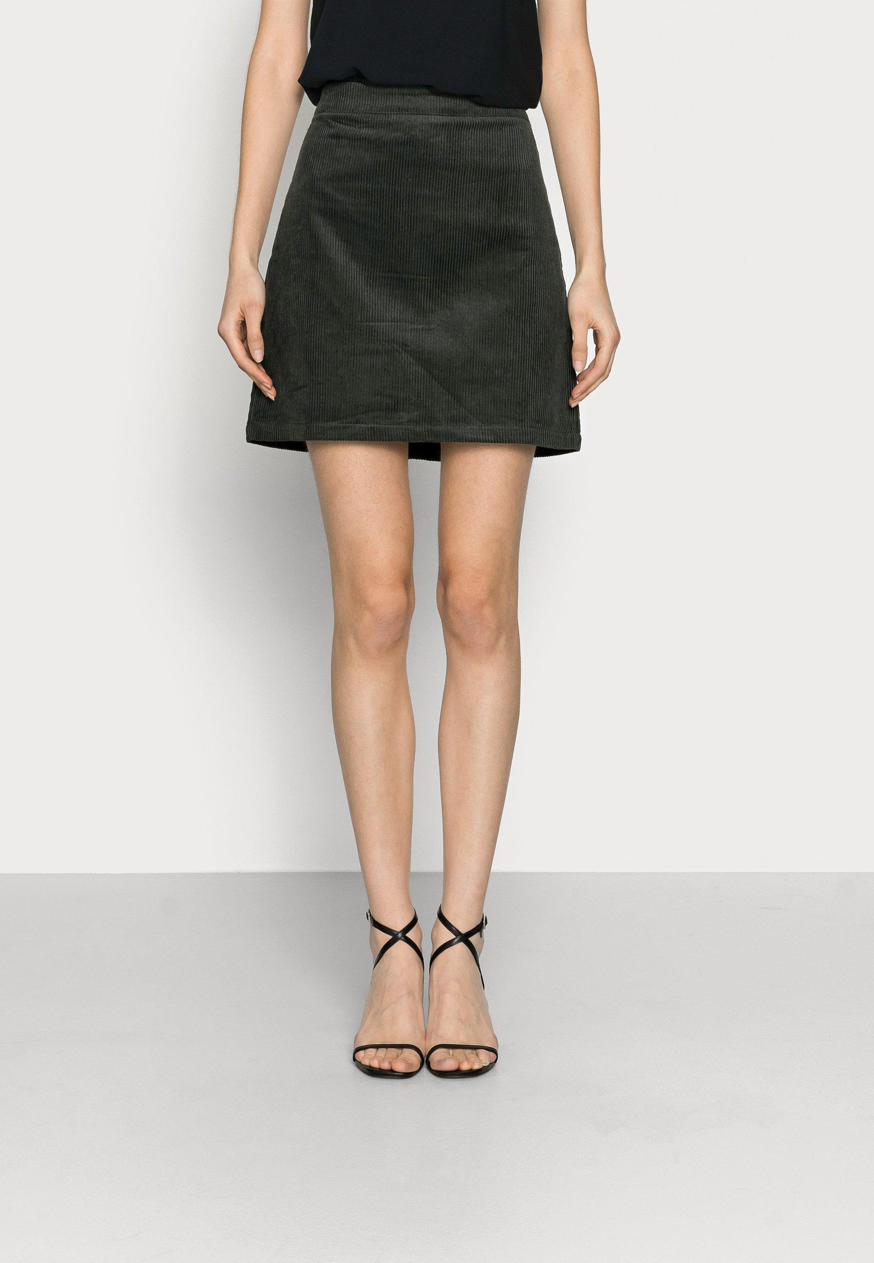 Mujer LADIES SKIRT  - Minifalda - dark green