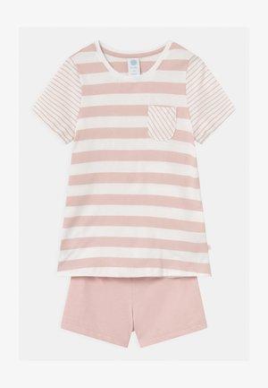 MINI STRIPES - Pyžamová sada - pink