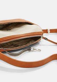 Esprit - Across body bag - beige, orange - 5