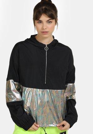 Lehká bunda - schwarz holo