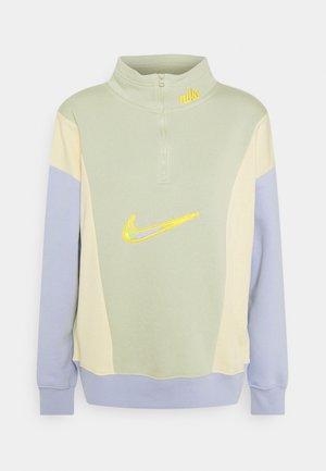 Sweatshirt - olive aura