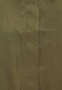 Object - OBJEILEEN DRESS - Blusenkleid - burnt olive - 2