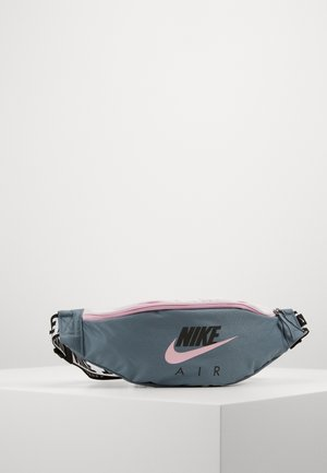 AIR HERITAGE - Bum bag - ozone blue/arctic pink