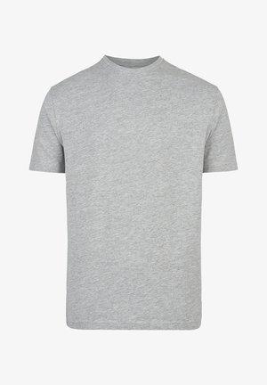 REGULAR FIT - Basic T-shirt - hellgrau