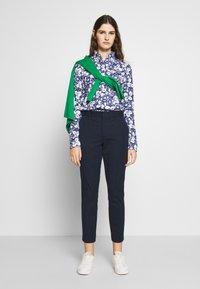 Polo Ralph Lauren - HEIDI LONG SLEEVE - Skjorte - blue/ white - 1