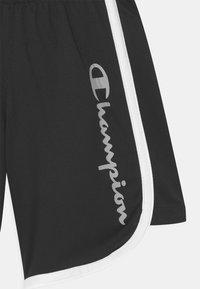 Champion - PLAY LIKE A CHAMPION UNISEX - Sports shorts - black - 2