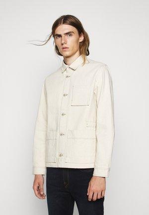 PLINTH JACKET - Summer jacket - ecru