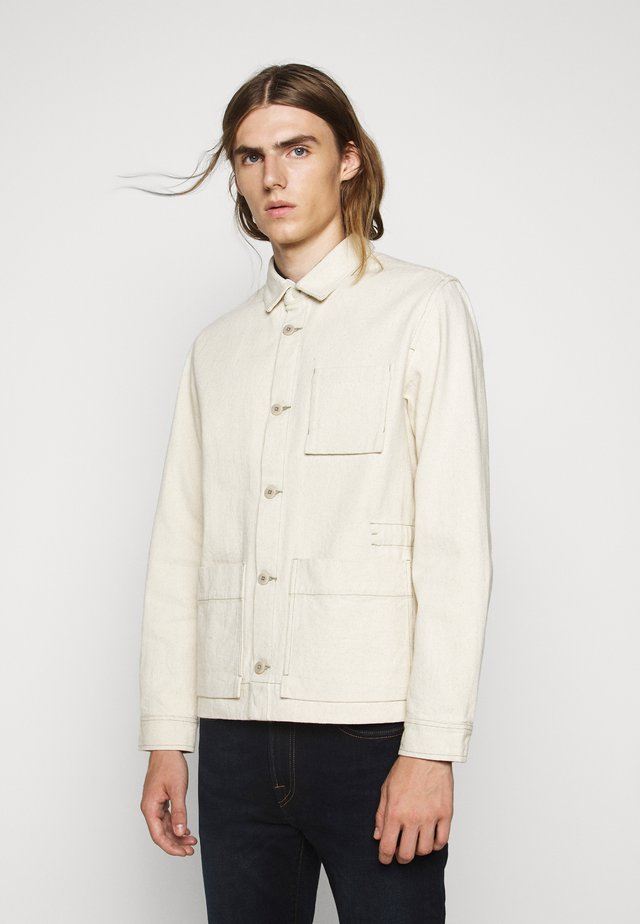PLINTH JACKET - Summer jacket - ecru