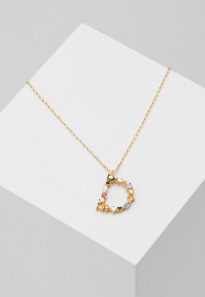 LETTER NECKLACE - Necklace - gold-coloured