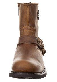 Harley Davidson - SCOUT - Cowboy/biker ankle boot - brown - 2